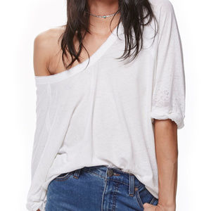 New withTag Free People Moonlight T  Ivory M